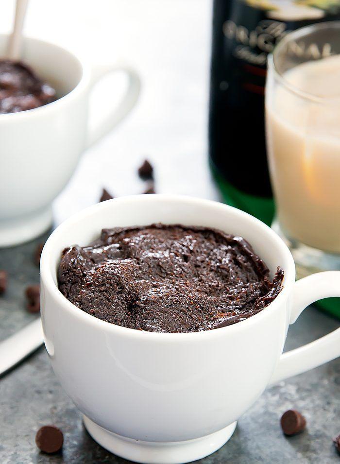 Flourless Baileys Chocolate Mug Cake | Recipe | Chocolate ...