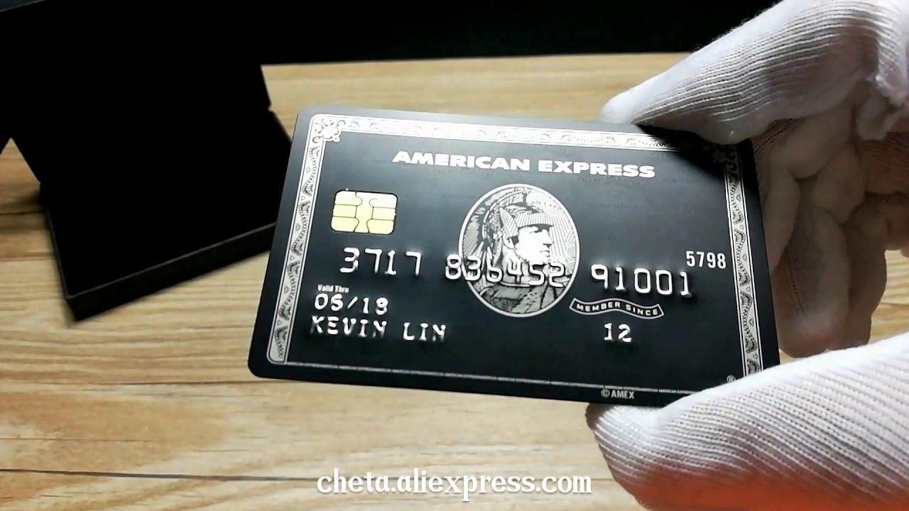 American Express Centurion Card (Replica) https://www.aliexpress