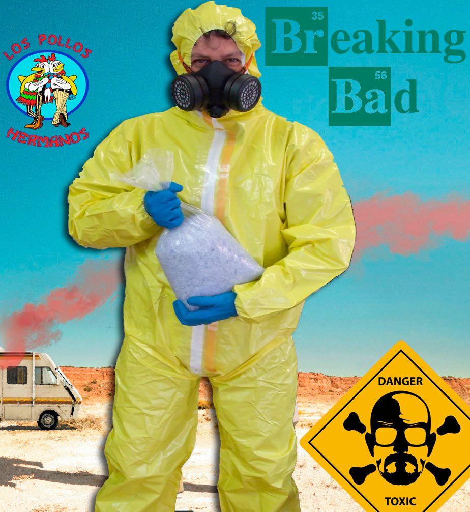 Disfraz Breaking Bad. Walter White, versión 2 Disfraz perteneciente a la serie de Breaking Bad, del personaje Walter White.