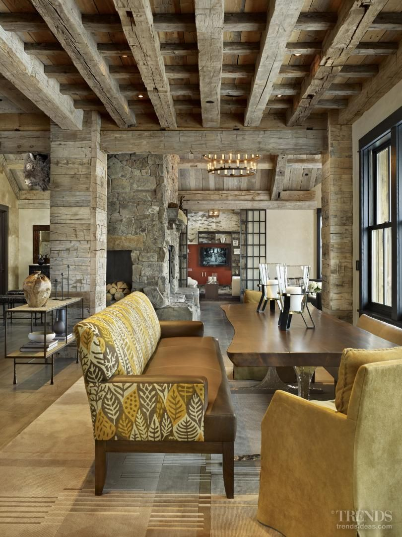 Captivating The Big Country U2013 Rustic Home With Interiors By Lisa Kanning #interiordesign