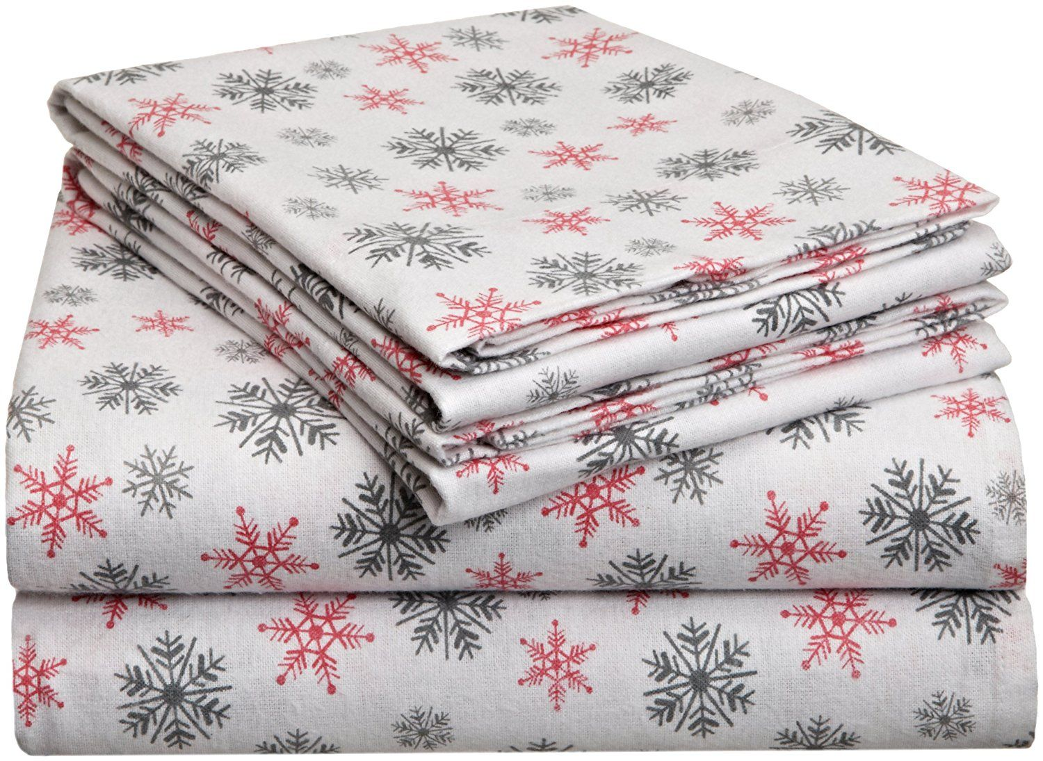 Pointehaven Heavy Weight Printed Flannel Sheet