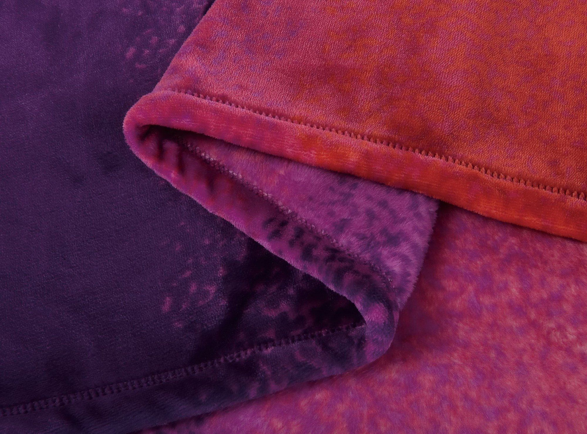 Calitime super soft throw blanket for bed sofa couch cozy warm