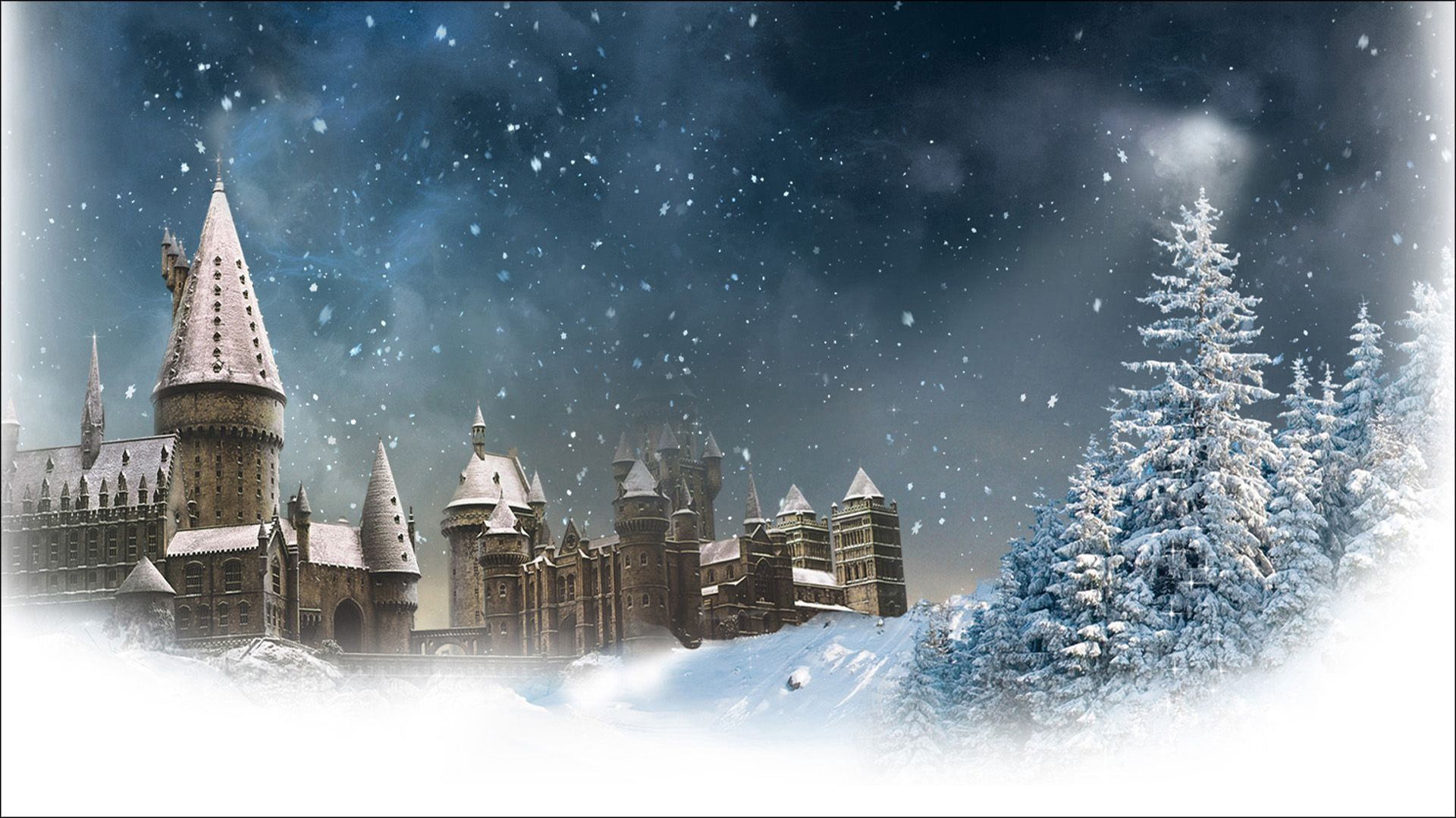 Harry Potter Cartoon Christmas Wishes To You Card Harry Potter Cartoon Harry Potter Wallpaper Harry Potter Painting