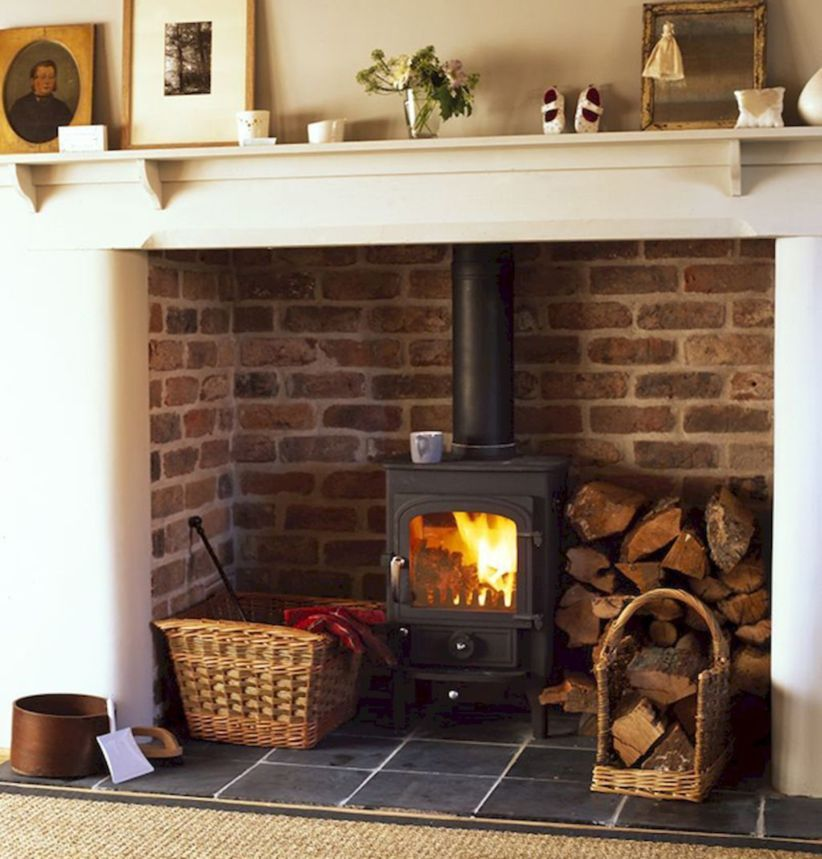 Nice 47 Awesome Small Fireplace Makeover Decoration Ideas More At