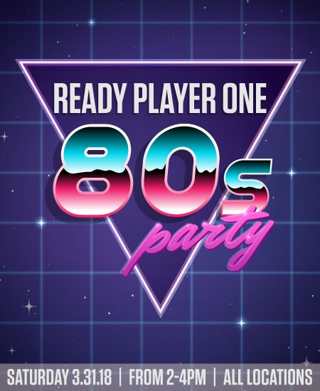 2nd & Charles Events: Ready Player One