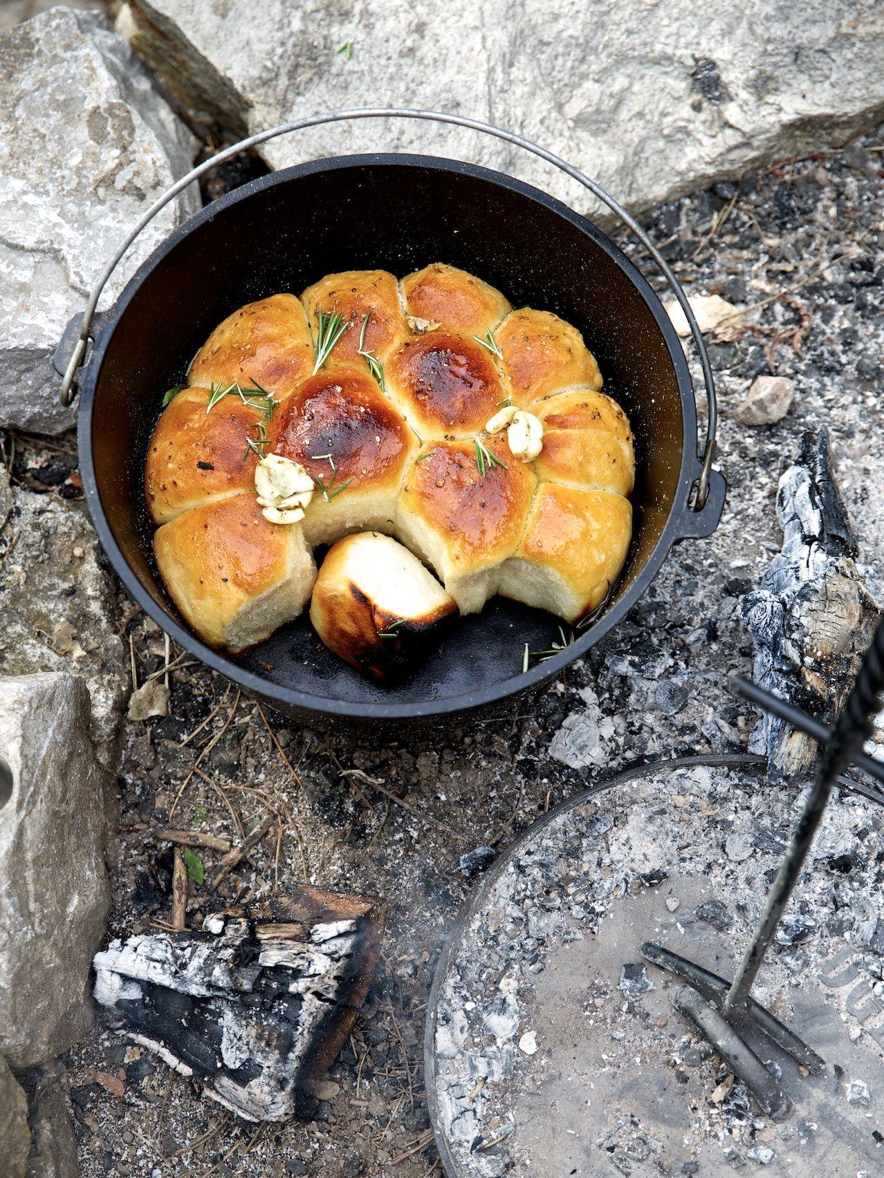 Die schlechte Nachricht zuerst: Um bei diesem Rezept aus dem Vollen schöpfen zu können, ist ein gus... #campfire
