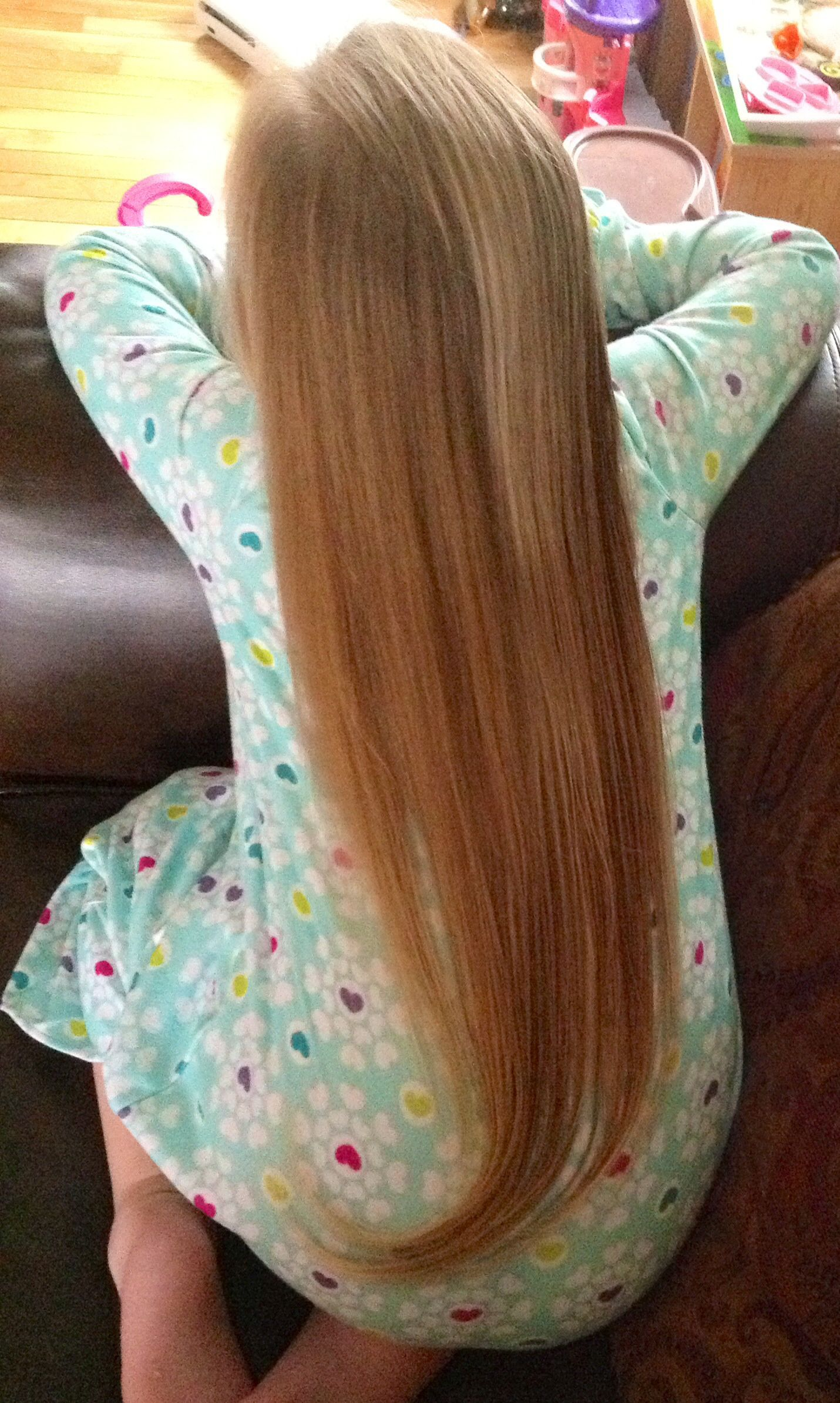 beautiful uncut apostolic hair  my guinevere   gorgeous