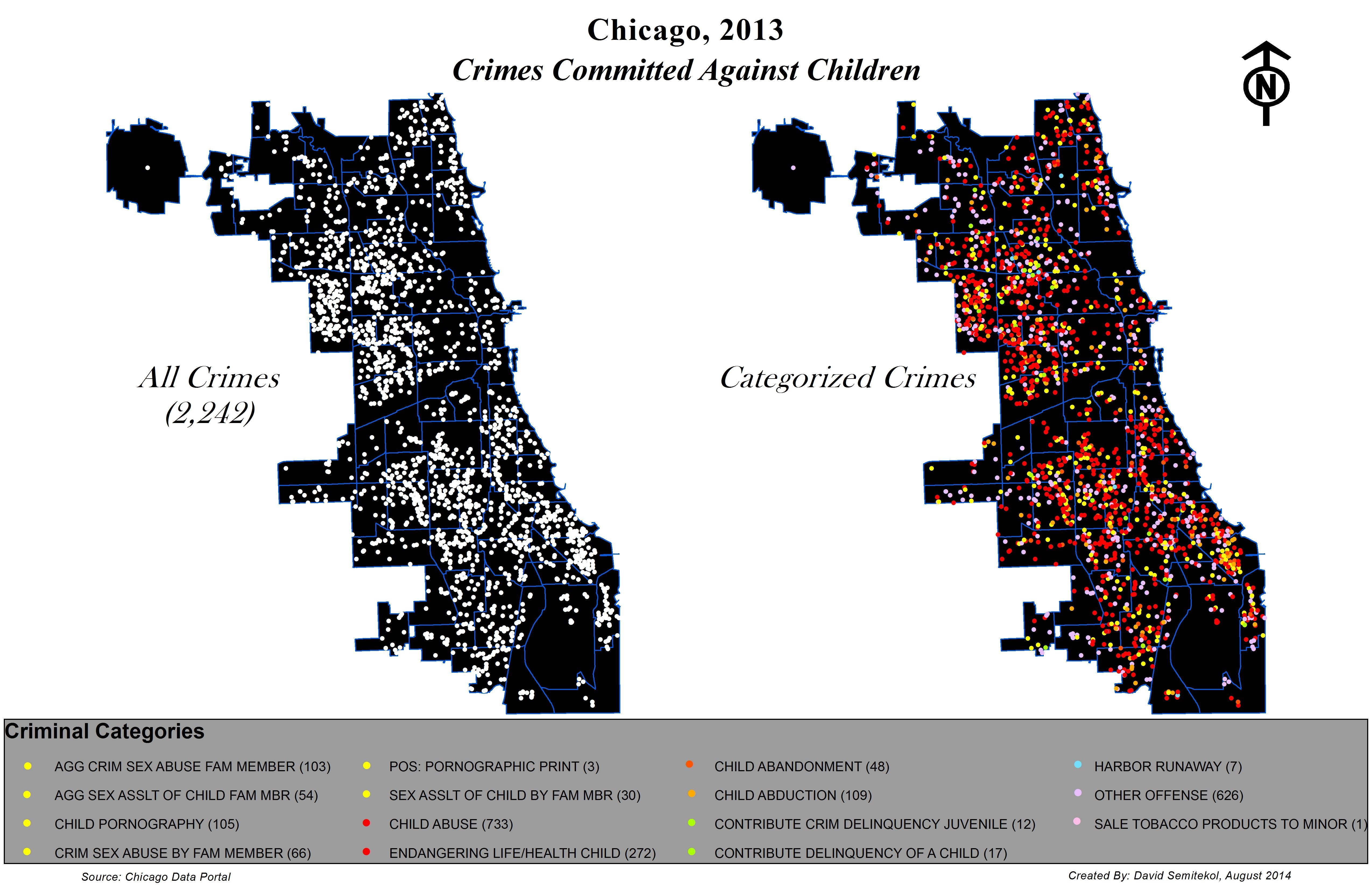 Chicago Crime Map on