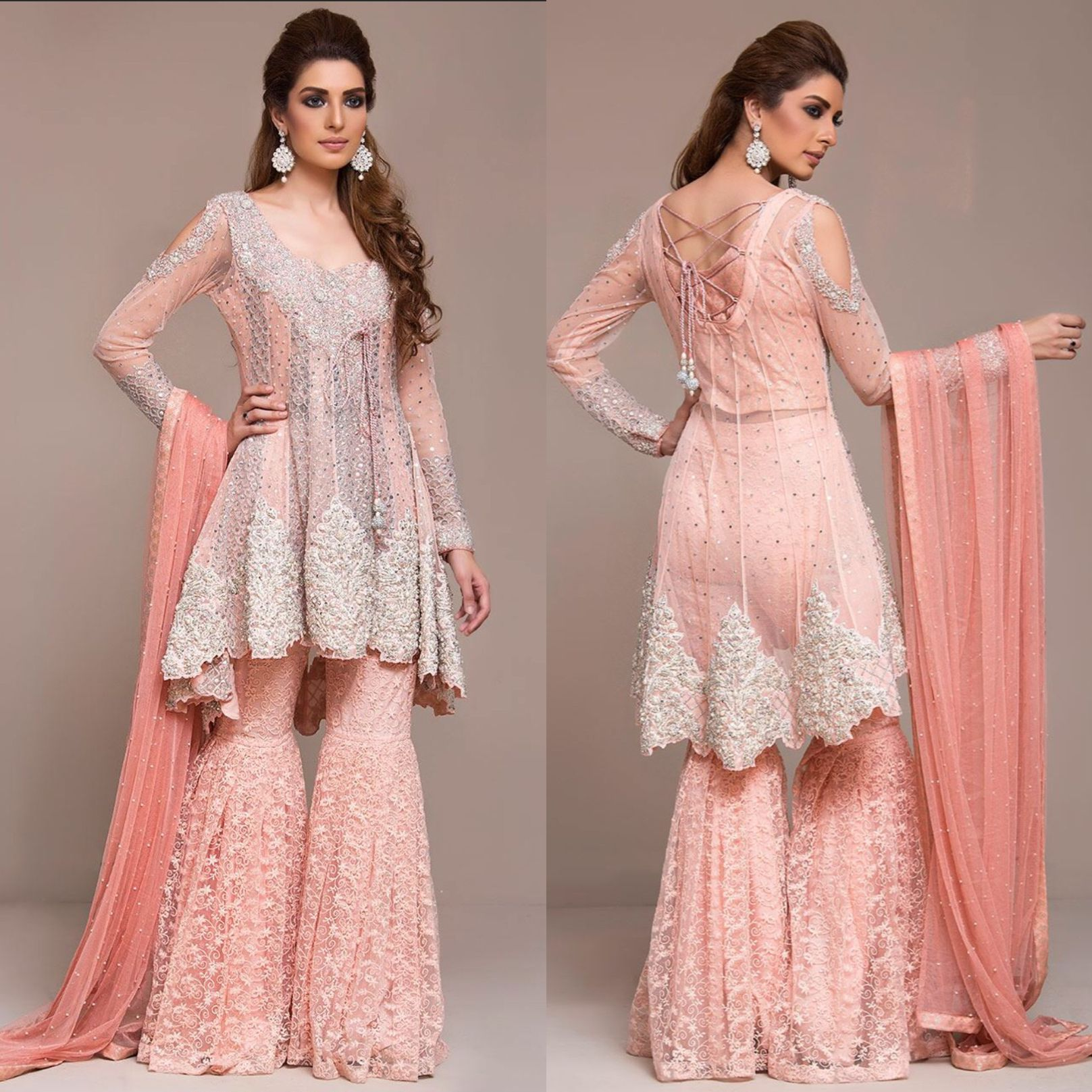 Gharara sharara | Pakistan wedding | Pinterest | Alta costura ...