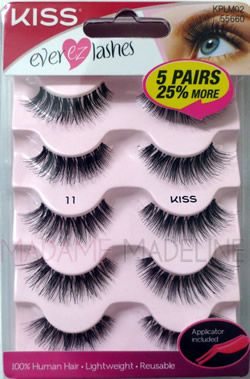 97d168fcc8a KISS EVER-EZ Multi-Pack (Lash #11) in 2019 | Lashes | Lashes ...