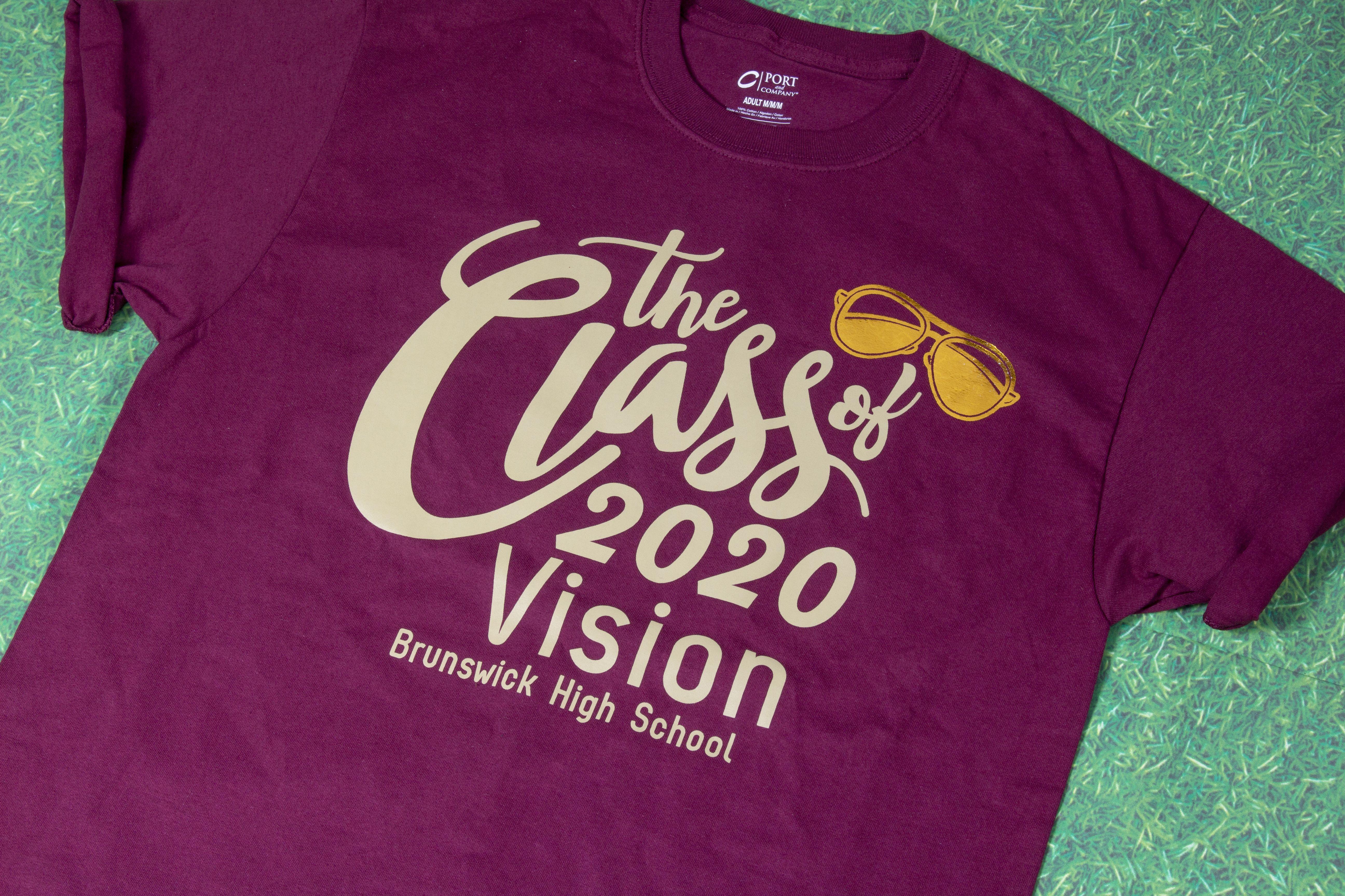Class Of 2020 T Shirt Idea 2020 Vision T Shirt Transferexpress