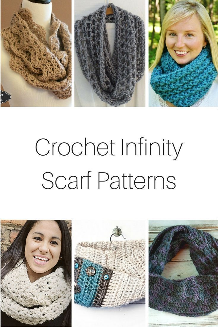Crochet Infinity Scarf Patterns | CREATE SHARE INSPIRE TOP PINS ...