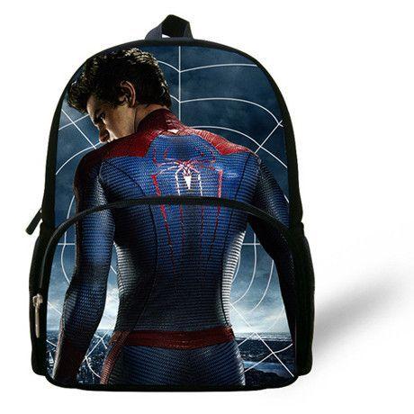 "Spider-Man Backpack 12/"" Boys Backpack NEW!"