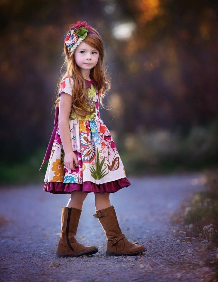 32ebcad0e Little Girl Fashion, Little Girl Dresses, Girls Dresses, Little Girls, Kids  Fashion
