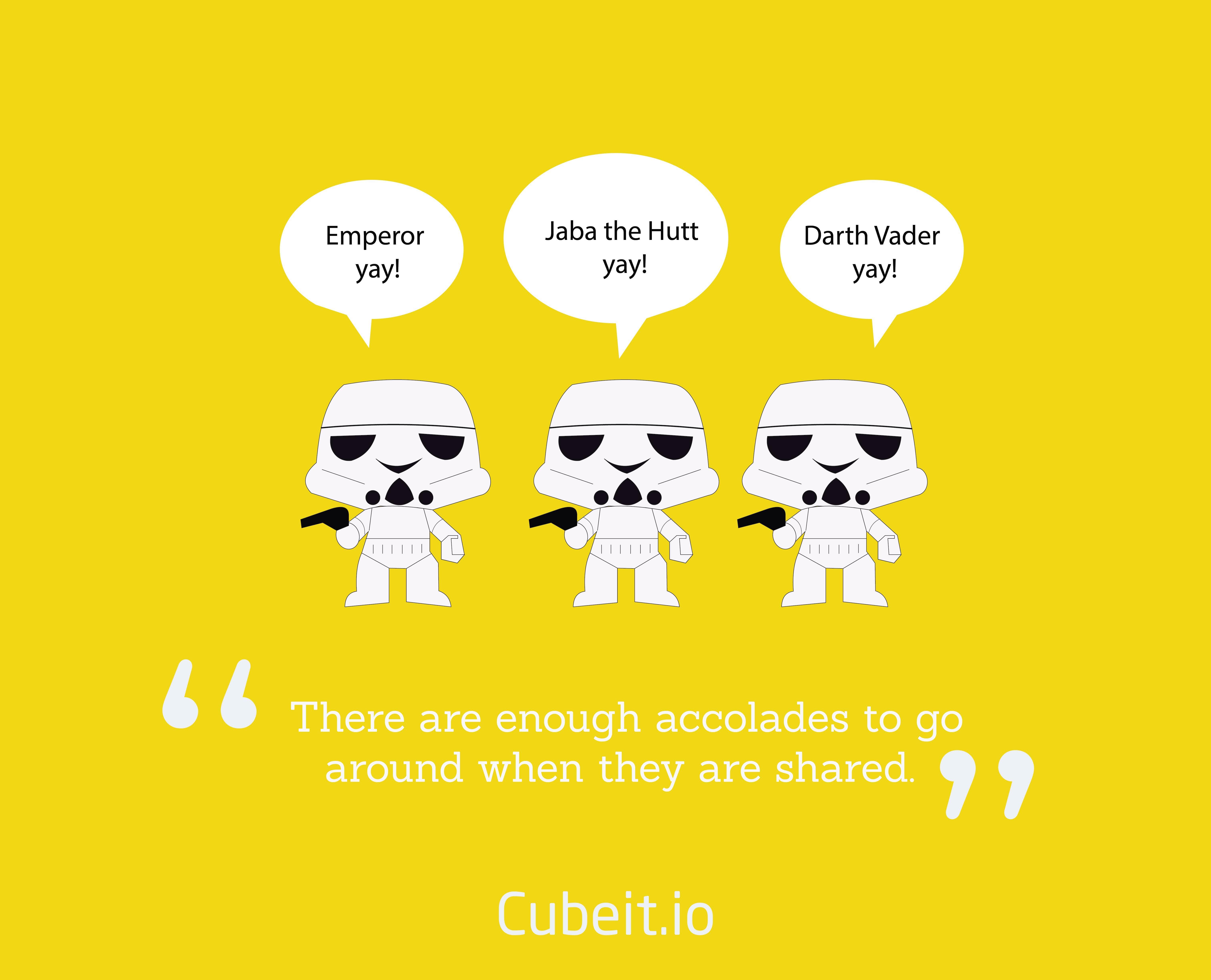 Everybody's a leader on Tatooine!