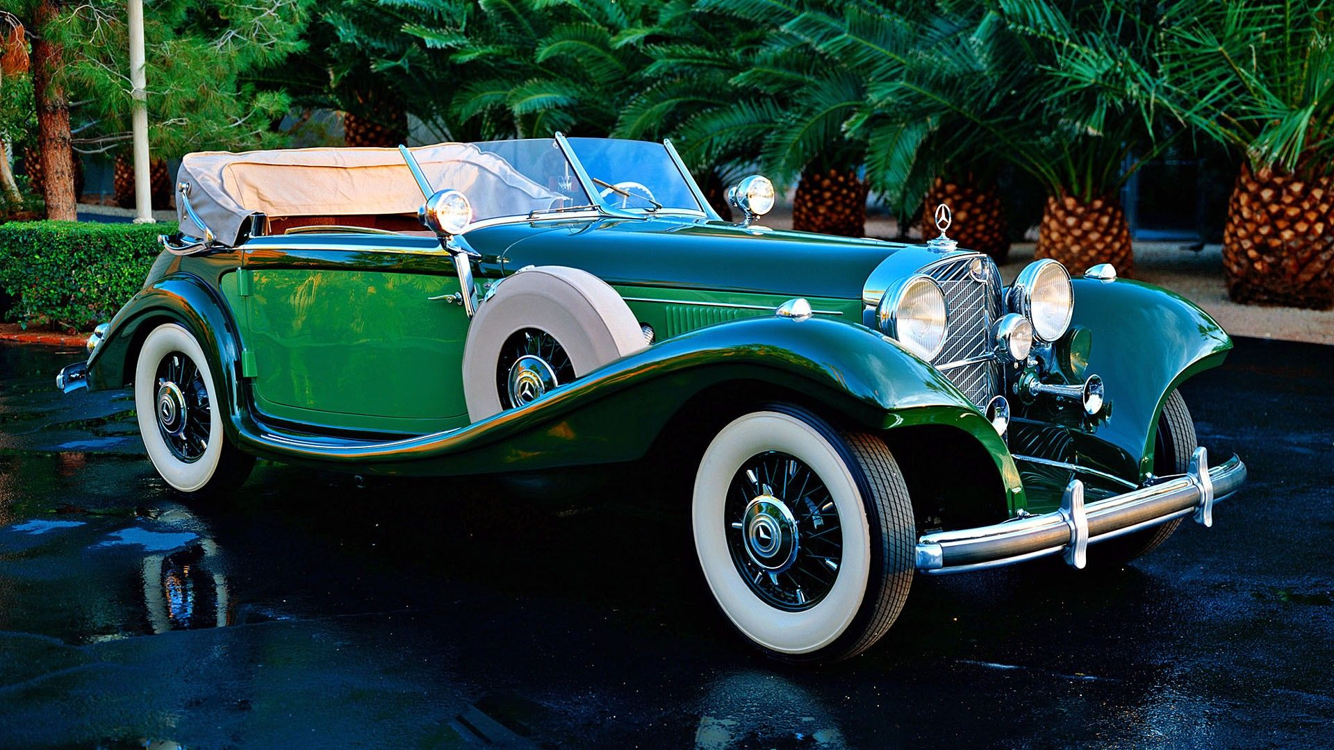 Vintage Cars Mercedes Benz Classic Cars 1920x1080 Wallpaper
