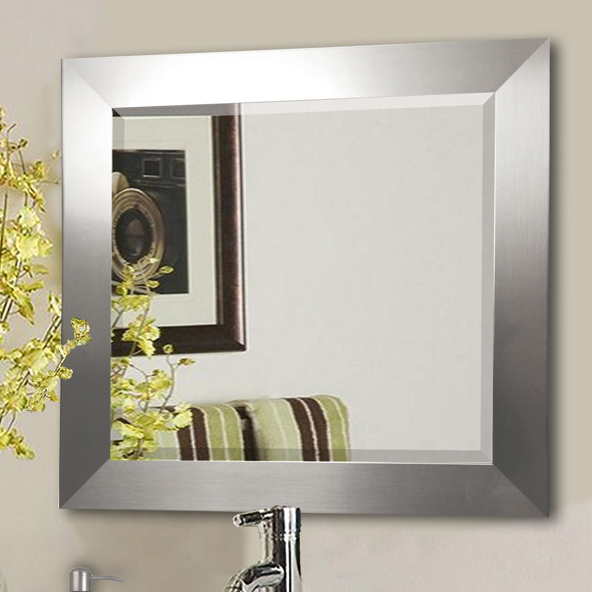 Wide wall mirror products pinterest products wide wall mirror amipublicfo Images