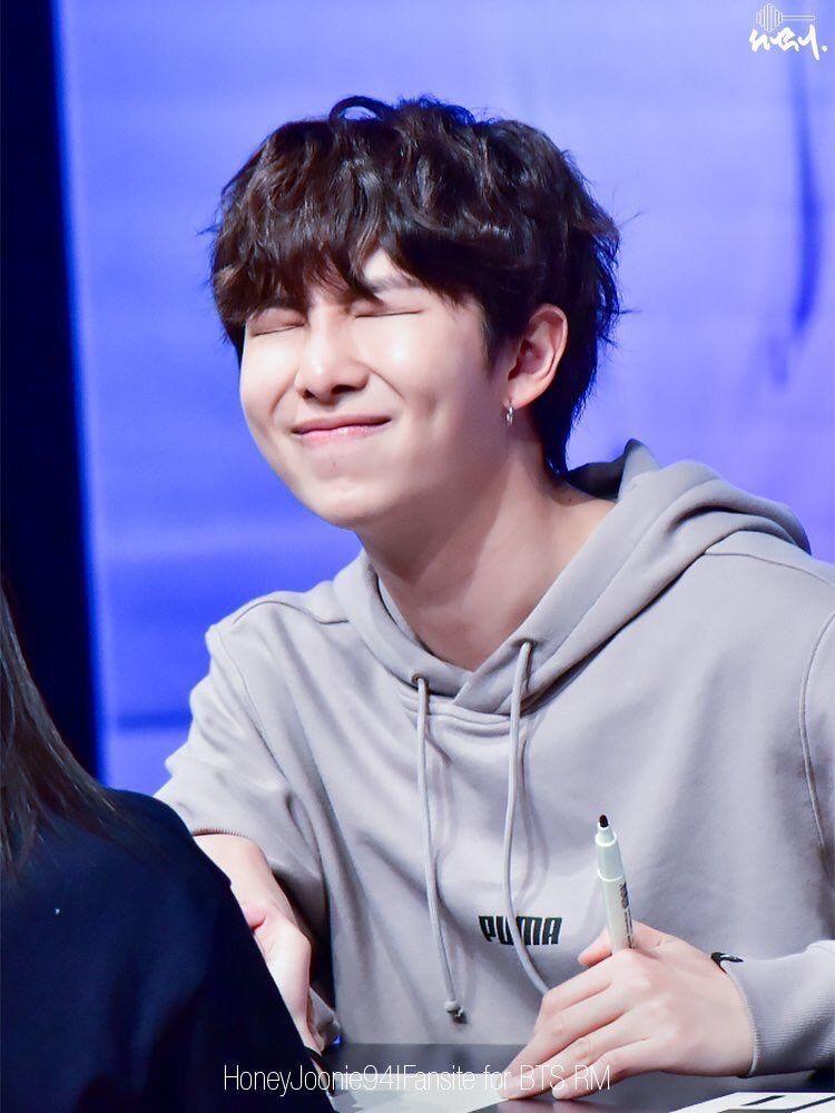 He Looks So Cute With Black Hair Namjoon Kim Namjoon Bts Rap Monster