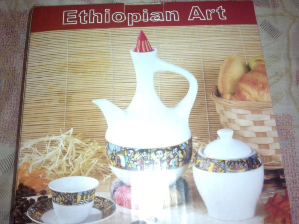 Details about Ethiopian (Eritrean) Habesha,Ceramic Coffee set Free