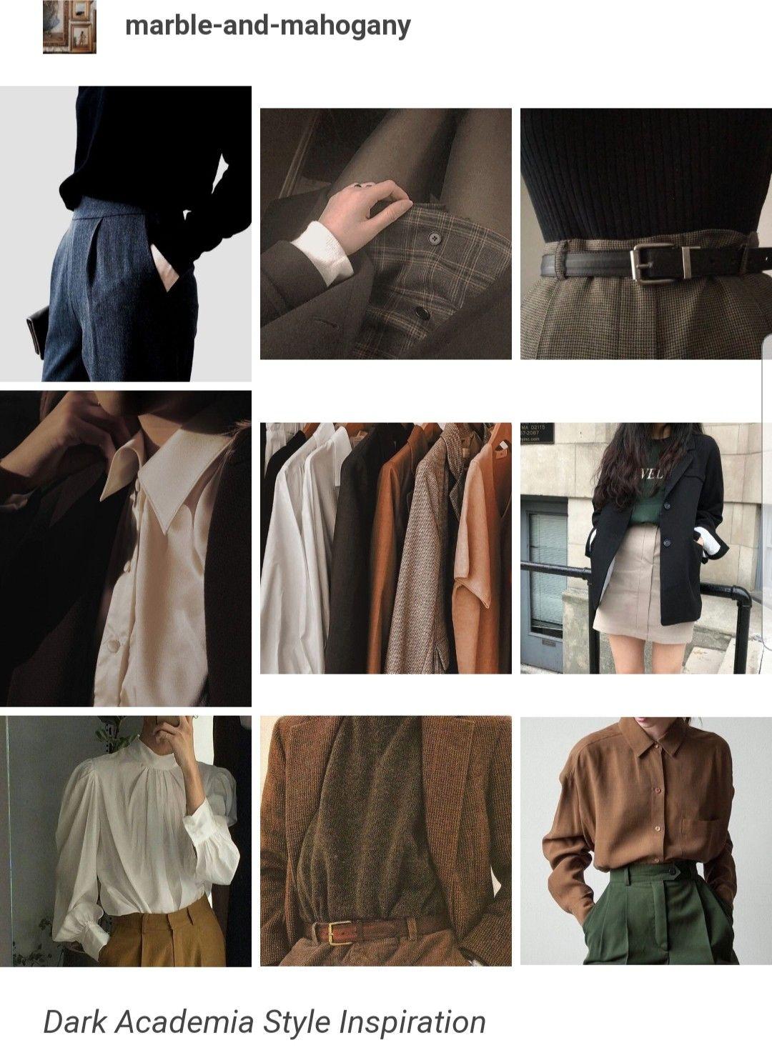 10++ Dark academia aesthetic outfits ideas ideas in 2021