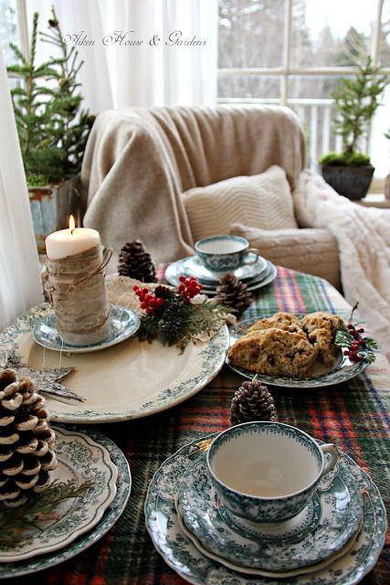 Aiken House & Gardens: A Cozy Sunroom Tea