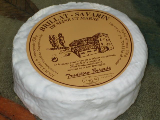 Brillat Savarin Is A Soft White Crusted Cow S Milk Cheese Named After 18th Century French Jean Anthelme Brillat Savarin P Cheese Artisan Cheese Cheese Maker