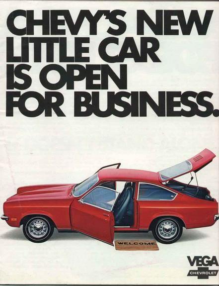 First Car 1973 Red Chevy Vega Hatchback 4 Speed Chevrolet Vega