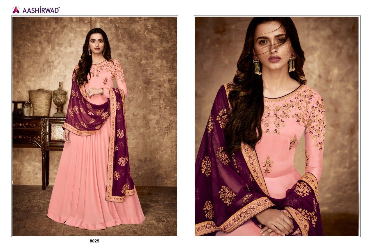 03a8472a83 ASHIRWAD CREATION GULNAAZ FANCY GEORGETTE PARTY WEAR ANARKALI STYLE SALWAR  SUIT CATALOG MANUFACTURER WHOLESALER AND EXPORTER OF INDIAN ETHNIC WEAR IN  INDIA ...