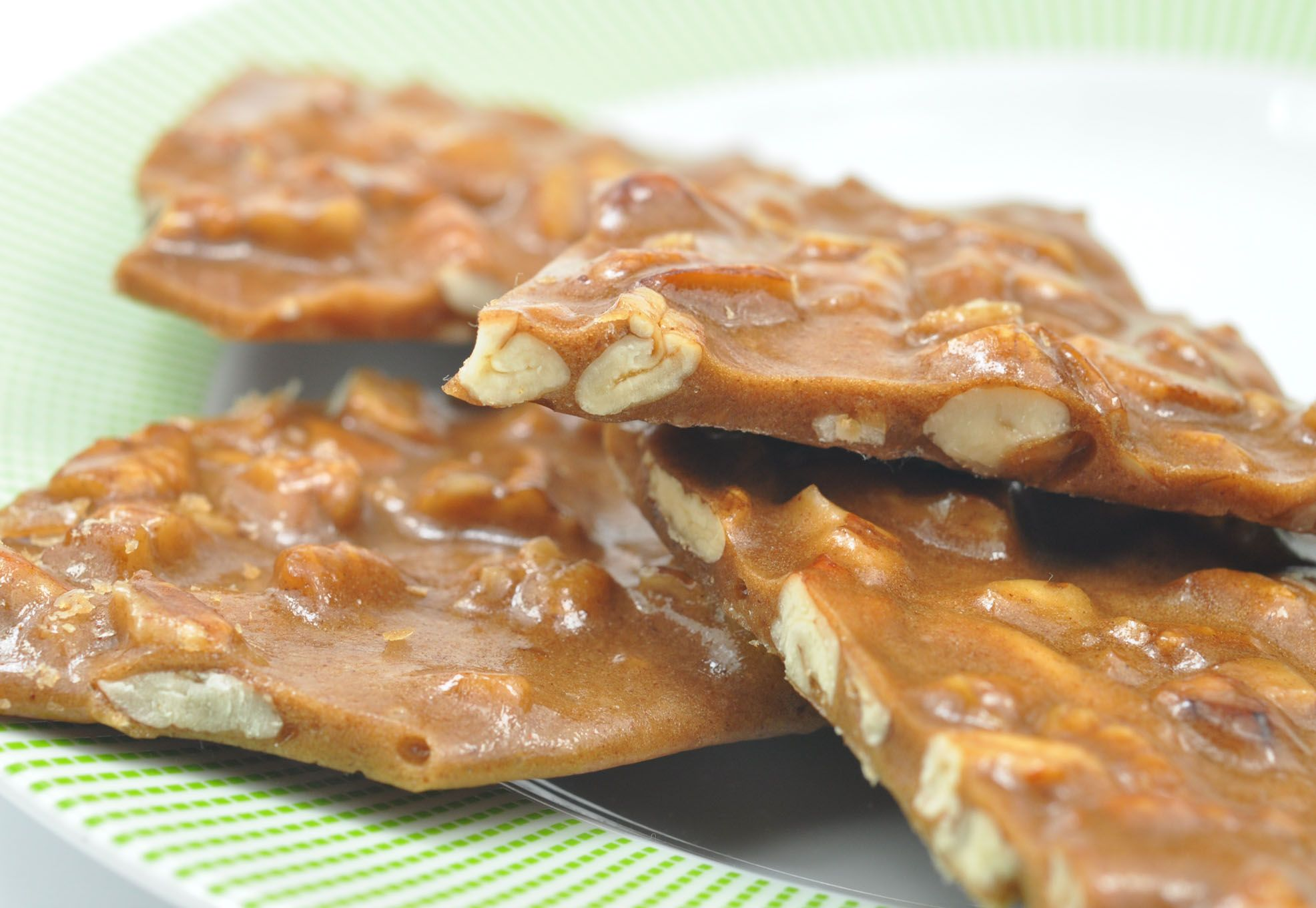 Light, crisp, crunchy and sweet - this pecan brittle candy recipe is a Texas favorite. Have last minute guests dropping by? Whip up a batch of this popular candy in 30 minutes or less.