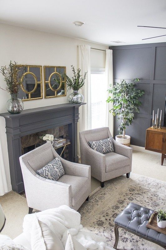 10+ Stunning Transitional Living Room Decor