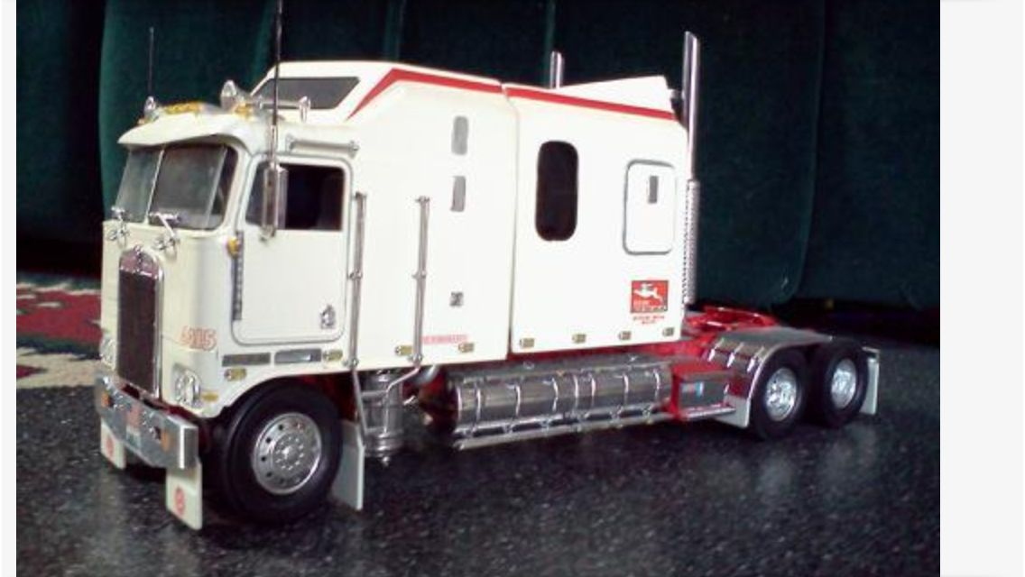 Truck Models How Can I Get This One Of These Model More What Is The Scale Kw K100 Aerodyne Cabover Sleeper 144 Large Car