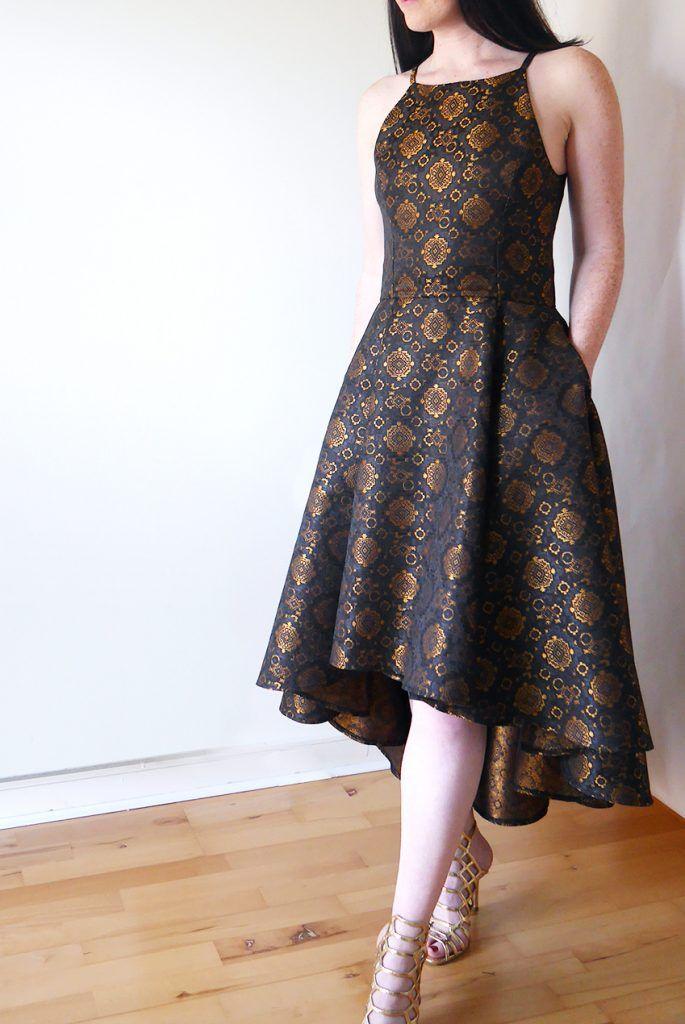 Vogue V9252 Misses Princess Seam High Low Dresses Amazing Sewing