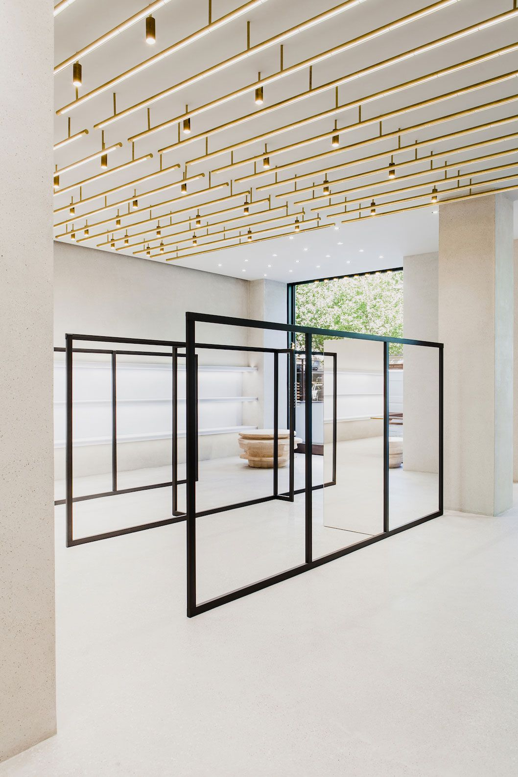 Berlin Interior Design Jil Sander Berlin Store By Andrea Tognon Architecture Interior