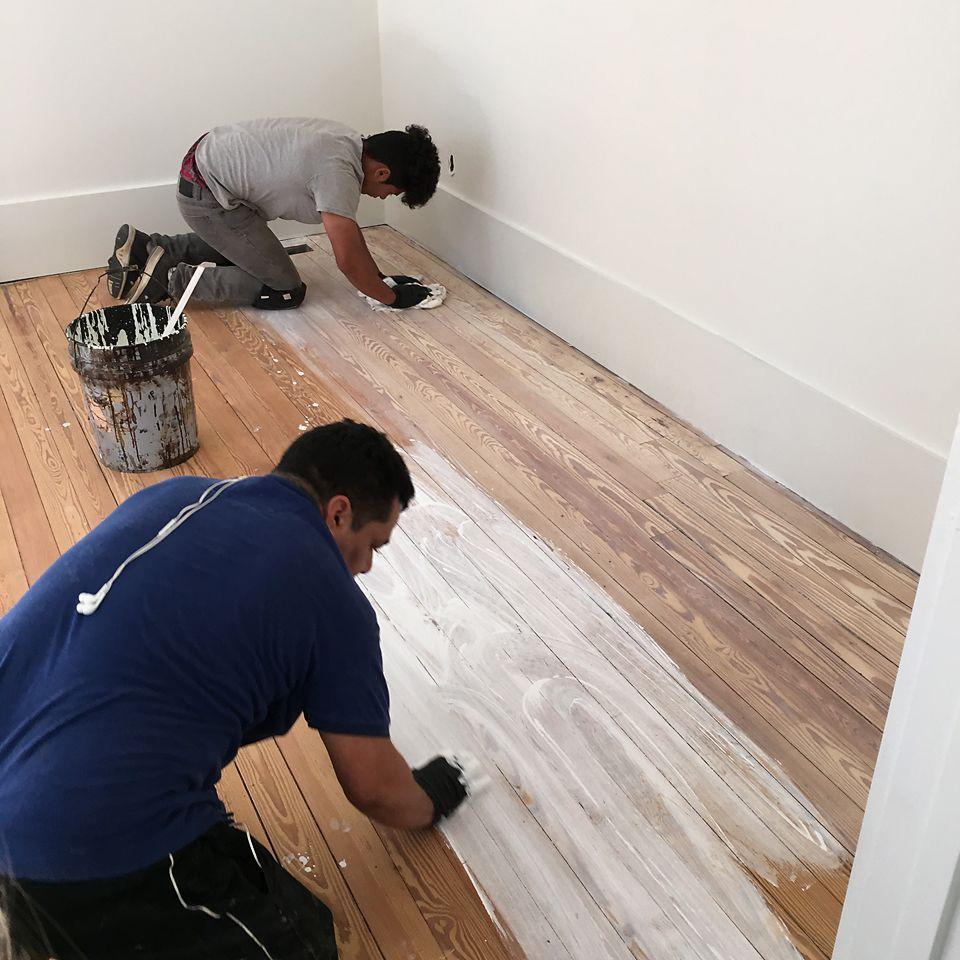 Download Wallpaper How To Whitewash Dark Hardwood Floors