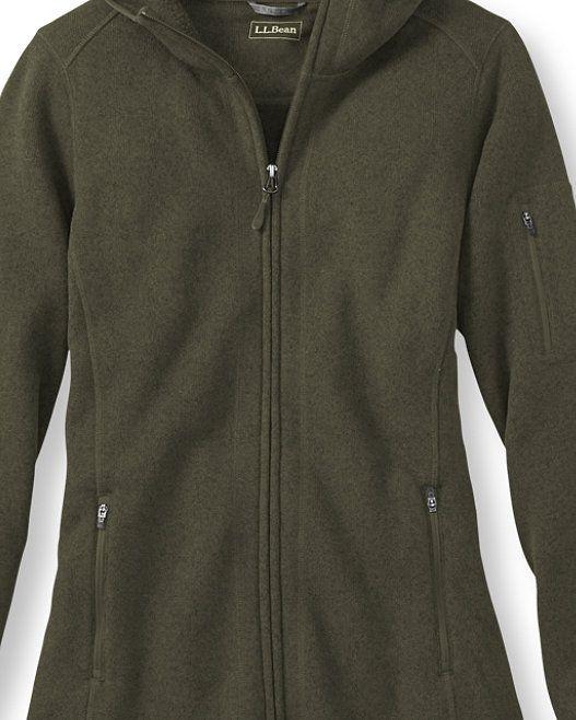 Sweater Fleece Coat Llbean Ll Bean Beans Sweaters