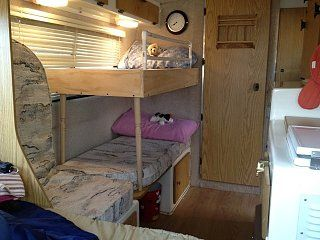 Awesome Bunk Bed Mod For Casita Trailer Bunk Beds Rv Bunk Beds Dailytribune Chair Design For Home Dailytribuneorg
