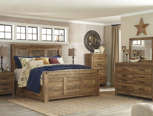 Bedroom Set Ladimier By Ashley Furniture At Bellagio Furniture