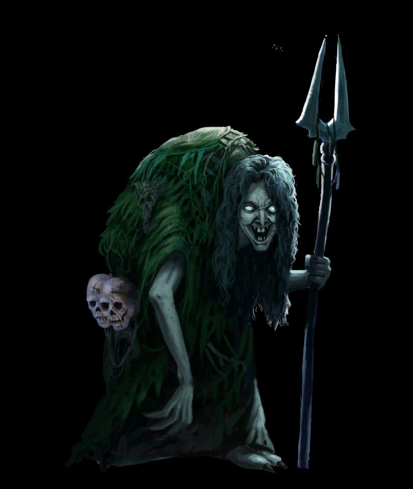 sea hag   Shadow creatures, Fantasy witch, Monster concept art