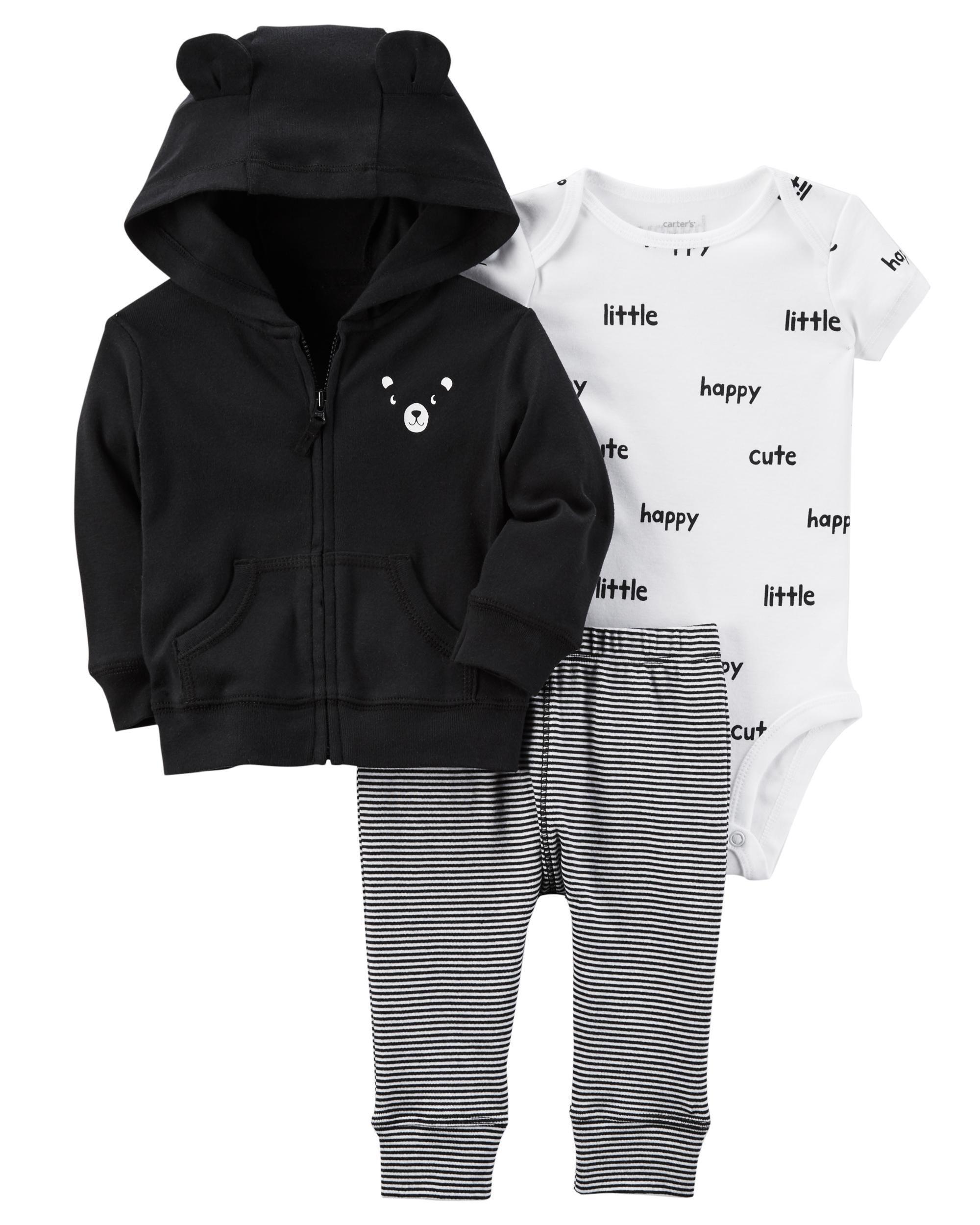 ec502e50c 3-Piece Babysoft Cardigan Set