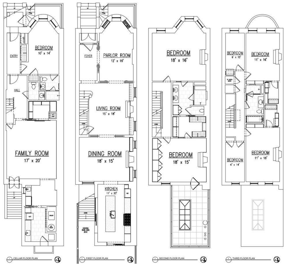 Floor Plan Town House Floor Plan New York Townhouse Floor Plans