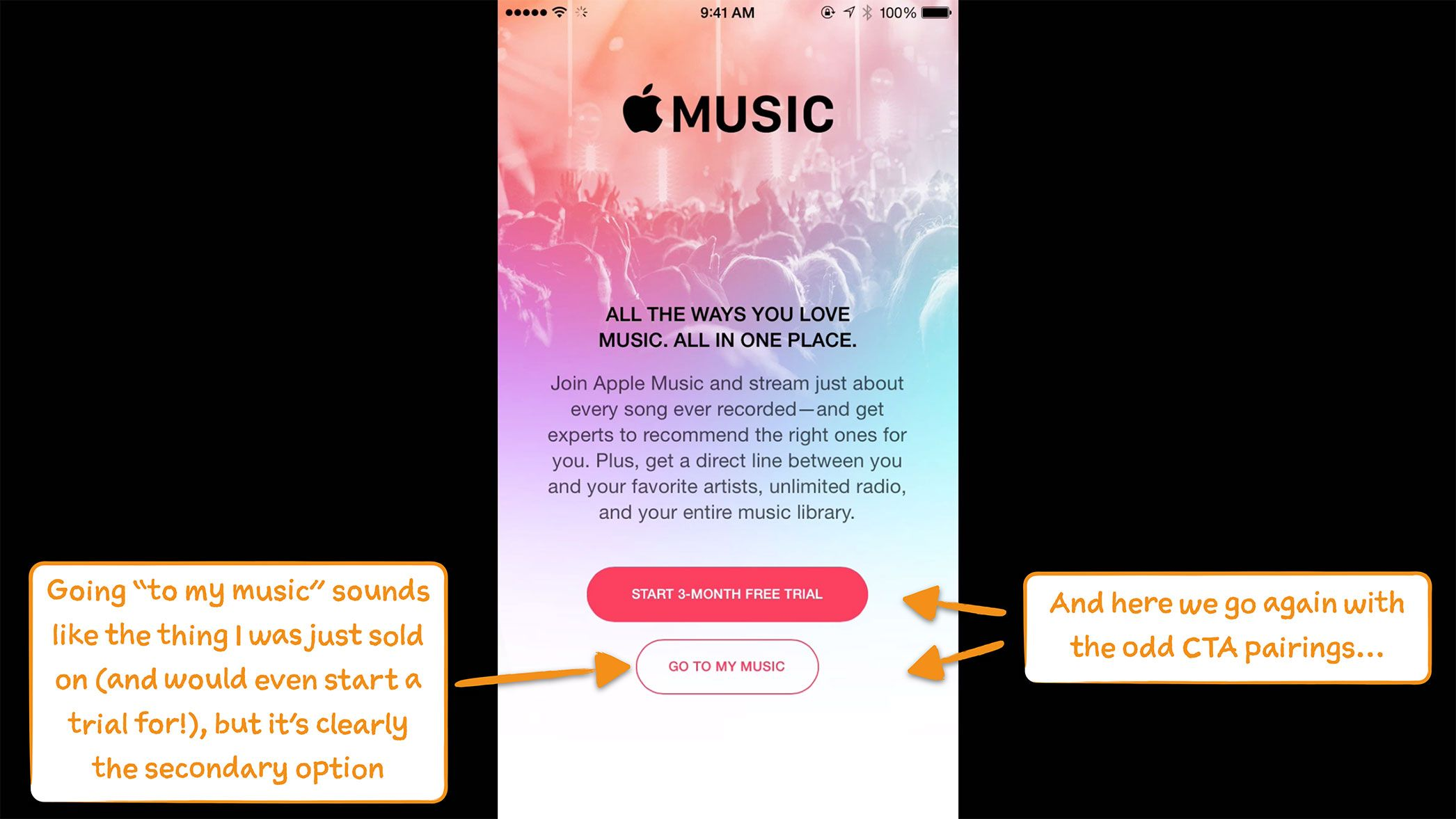 How Apple Music Onboards New Users Apple music