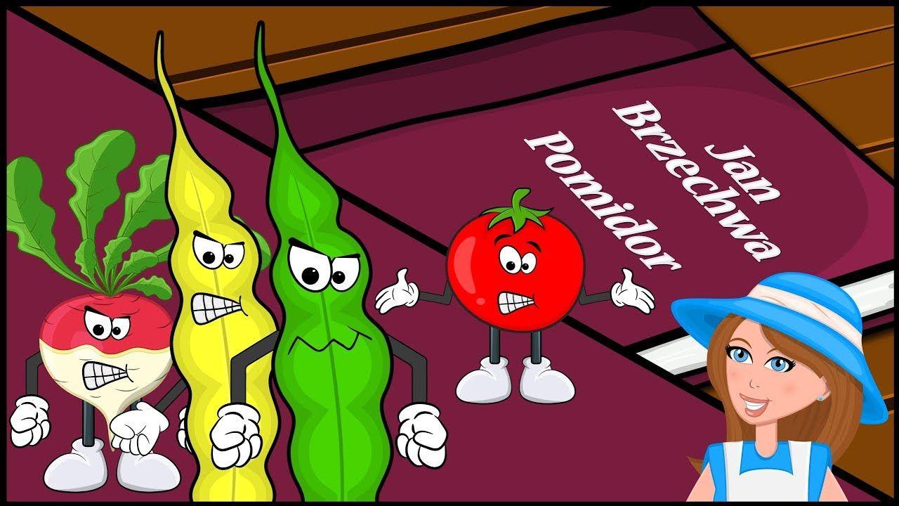 Pomidor Jan Brzechwa Animowana Bajka Wiersz Dla Dzieci