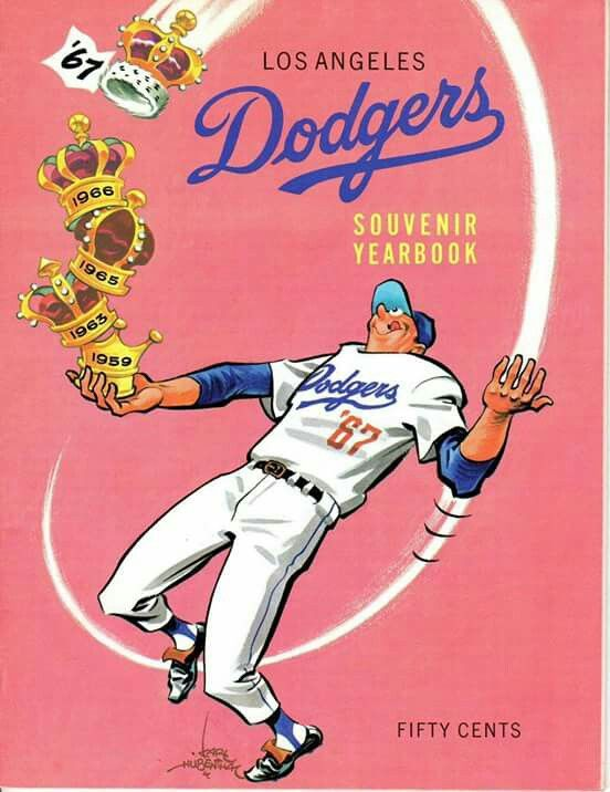 1967 Los Angeles Dodgers Yearbook Dodgers Los Angeles Dodgers Baseball Dodgers Baseball