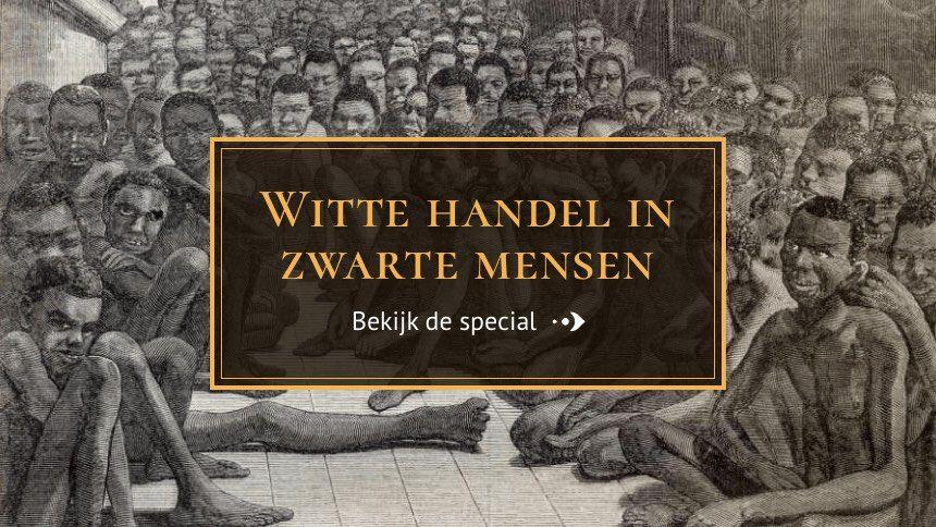 In deze special is ervoor gekozen om de geschiedenis van de trans-Atlantische slavernij te belichten. klik plaatje en dan scrollen voor geschiedenis.