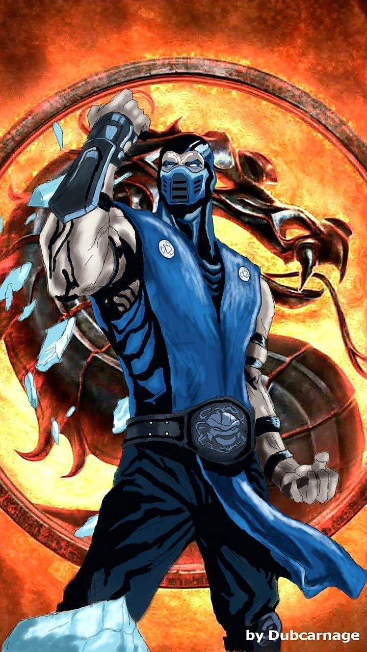 SubZero Mortal kombat characters, Mortal kombat art