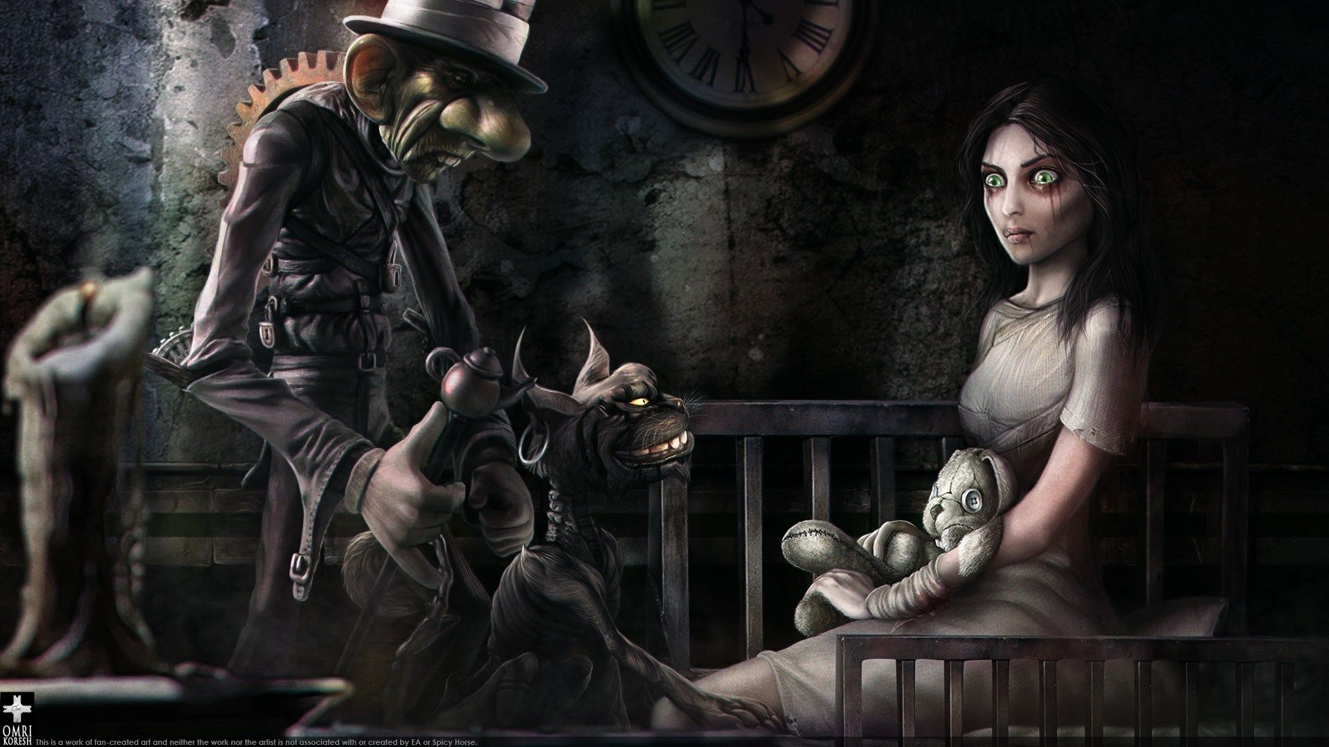 American Mcgees Alice 1080p High Quality 1920x1080 Alice Madness