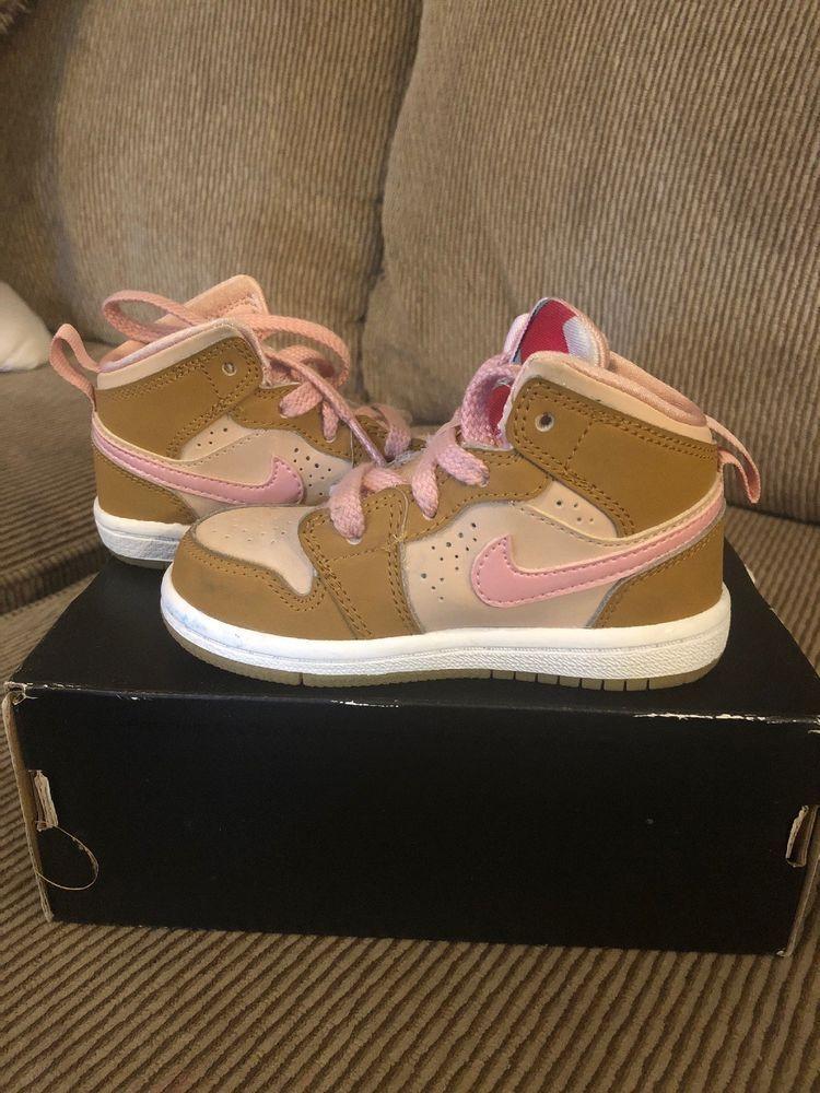 95b9ddfaffa63c Nike Air Jordan Retro 1 Mid WB GG SZ 6C Lola Bunny Hare Wheat Pink GS  724072-730  fashion  clothing  shoes  accessories  kidsclothingshoesaccs   unisexshoes ...