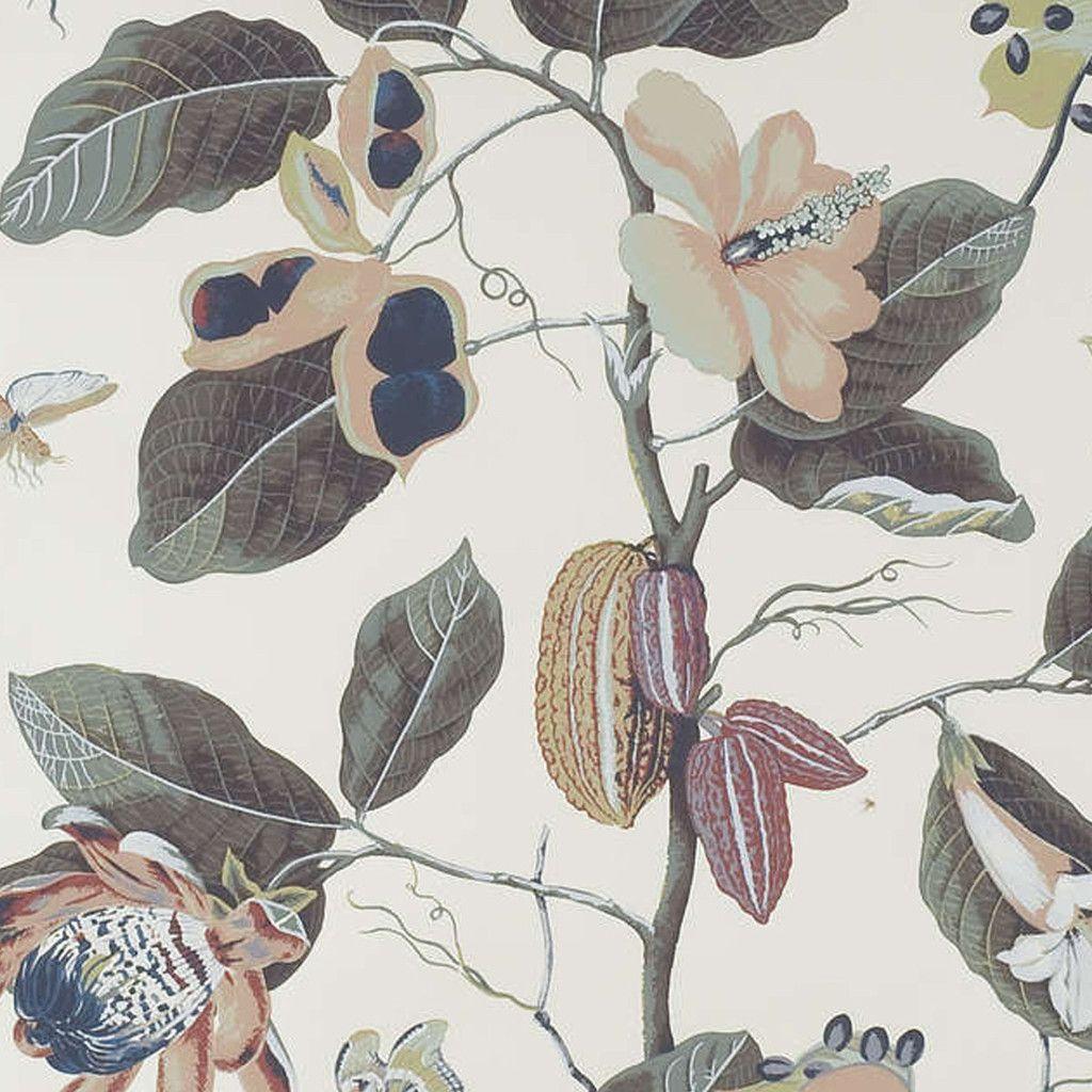 Pierre Frey Nakai 02 Pierre frey, Fabric wallpaper