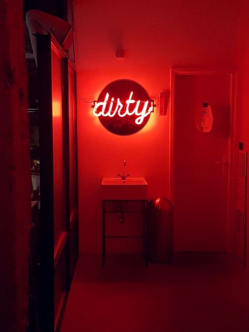 Neon Sign Tumblr Red Aesthetic Neon Aesthetic Neon Signs