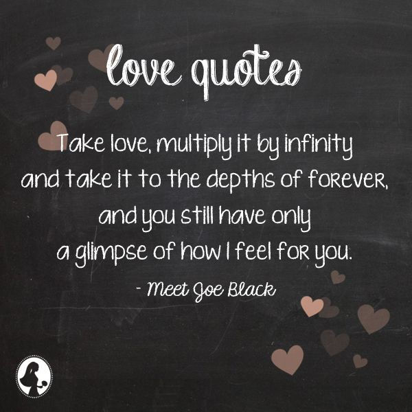 Infinity Love Quotes Endearing Love Quotes  Take Love Multiply Itinfinity And Take It To